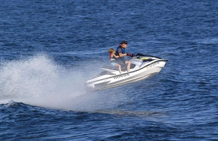water Sport boat view
