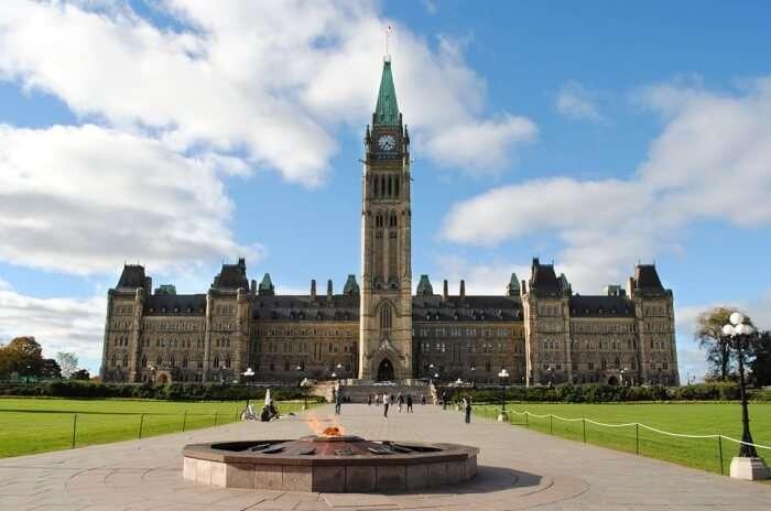 Ontario Ottawa Canada Parliament Government Hill