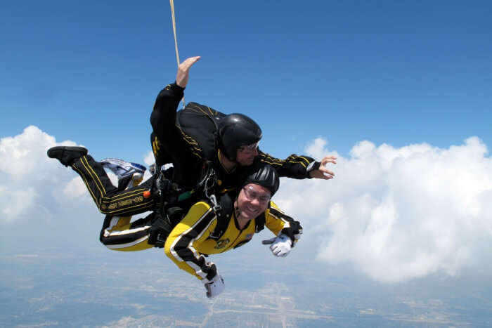 Outdoor Skydiving