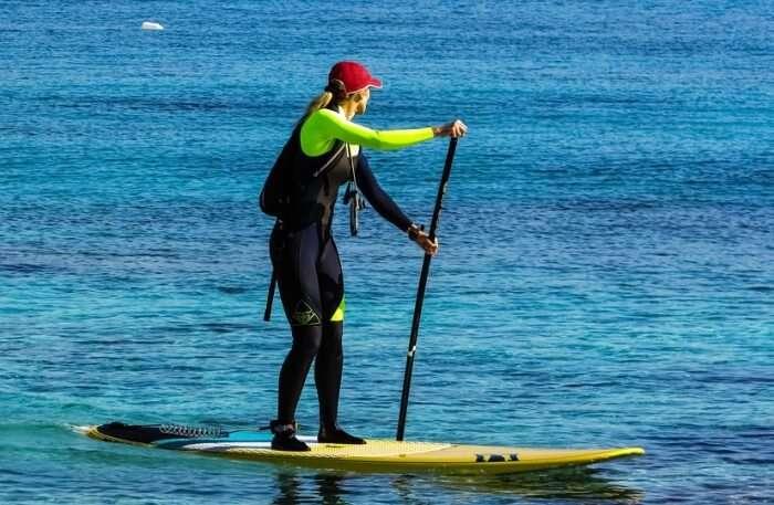 Paddleboarding Paddle Board