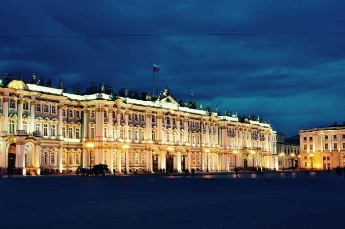 Museum Russia Palace Petersburg Saint Hermitage
