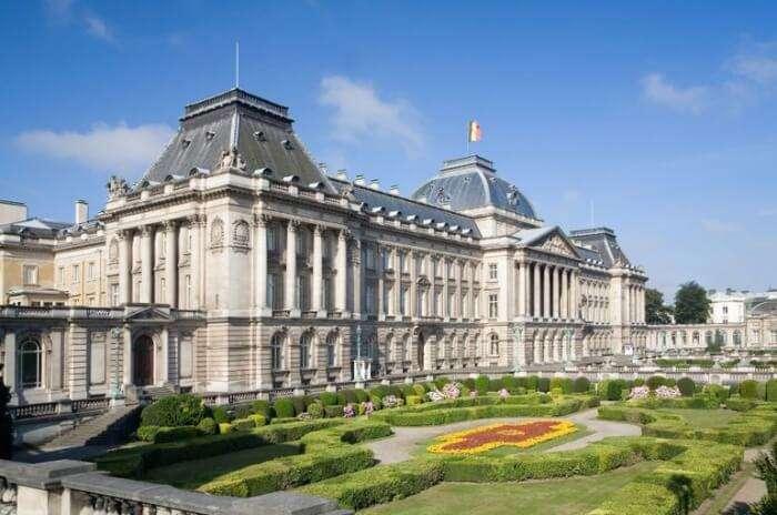 Palais Royal, Brussels Park