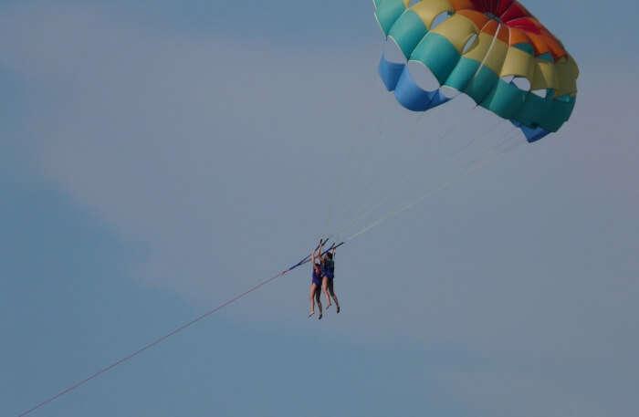 Paragliding in Corfu