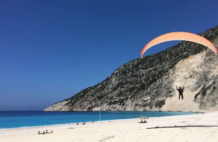 Paragliding in Kefalonia