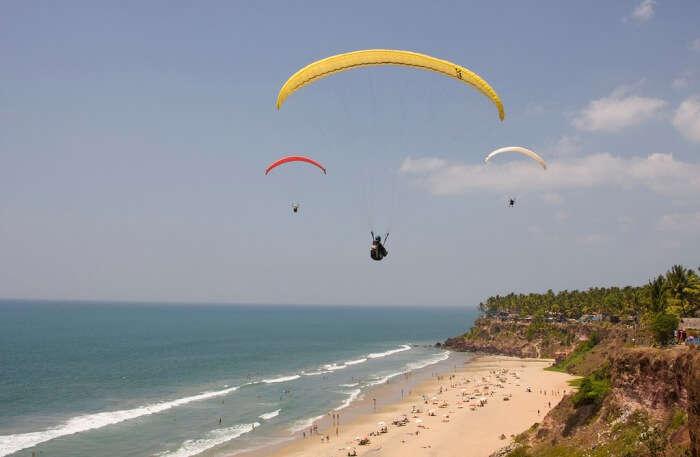 Paragliding in Lefkada