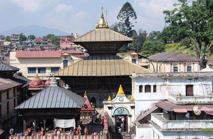 Pashupatinath Temple in Kathmandu