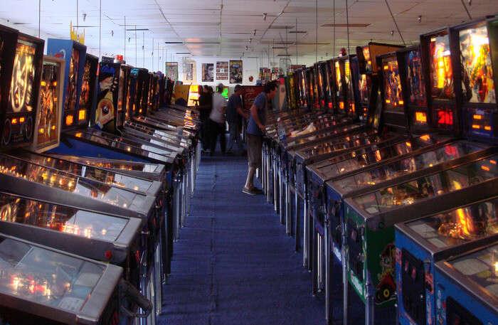 view of Pinball Hall of Fame