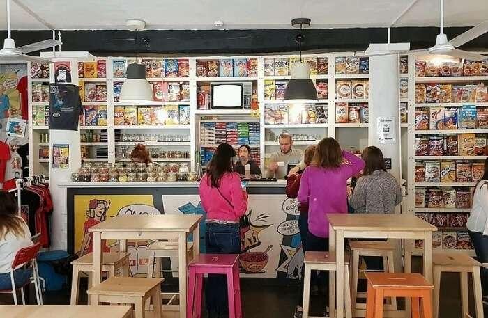Pop Cereal Café in Lisbon
