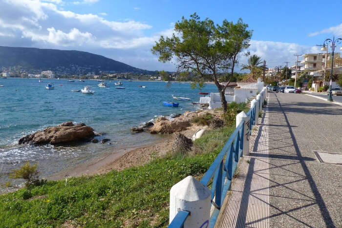 Porto Rafti beach in Athens