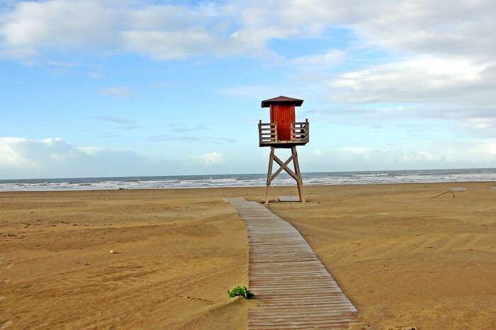 Huelva Landscape Beach Punta Umbría Sand