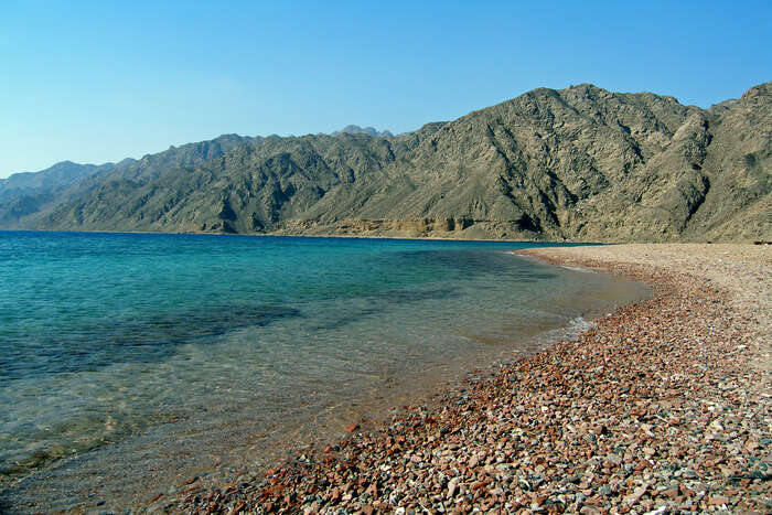 beautiful coastal town of Dahab