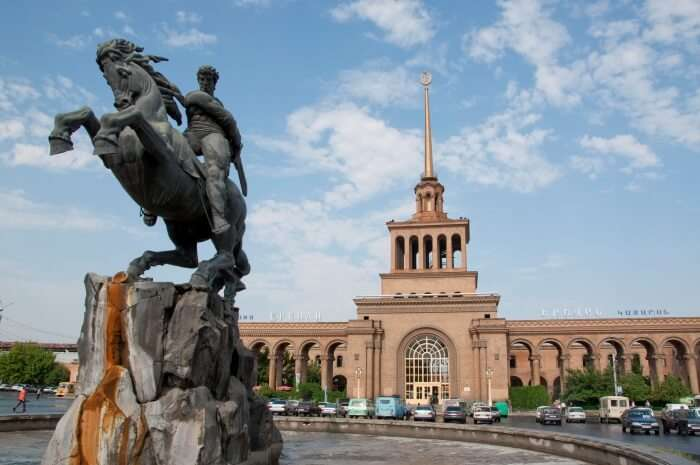 Revel in the natural beauty and history of Yerevan, Armenia