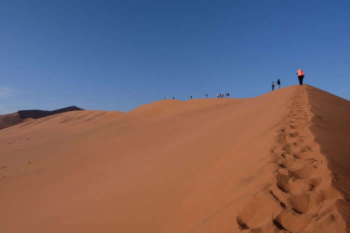Sahara Desert Hiking