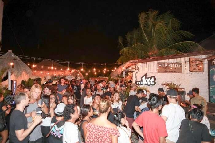 Saturday Night Party At Padang Padang