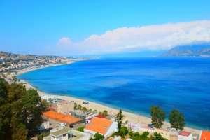 Schinias beach in Athens