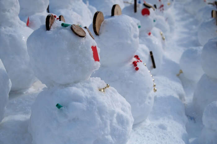 See snowmen come to life at Snowman World