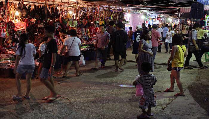 Shop at White Sands Beach Night Market