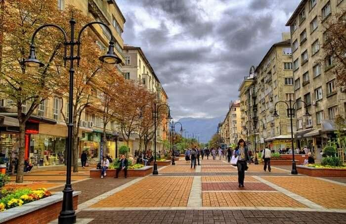 Shopping in Vitosha Boulevard- Of heart