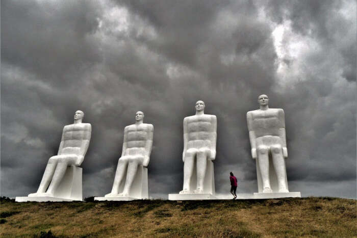 Sitting Next To The Giants Of Esbjerg