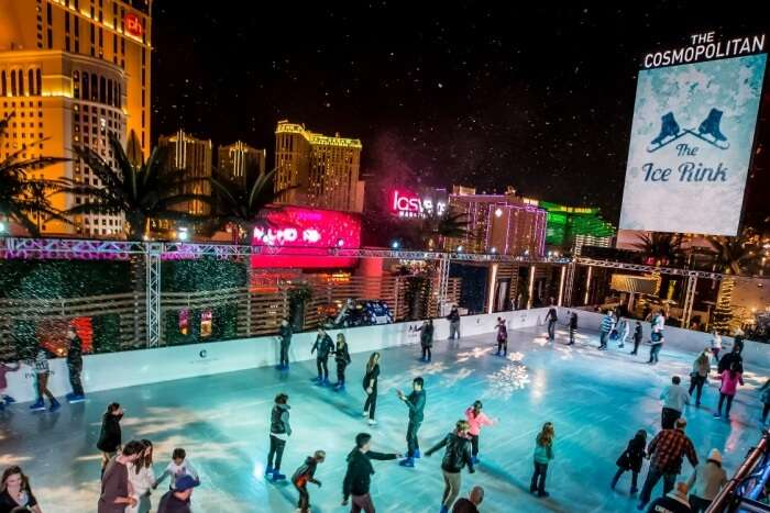 Skates and Beats at the Ice Rink