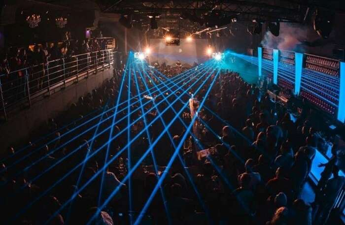 Sky Club lighting view