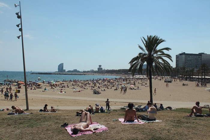 Somorrostro Beach Barcelona