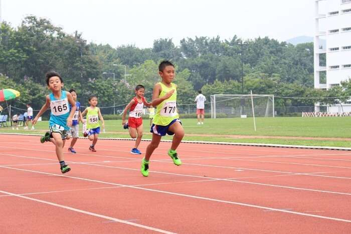Spending Great Time at the Sheltered Running Track of Tampines