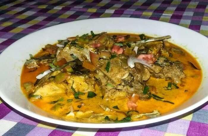 Delicious Sri Lankan cuisine