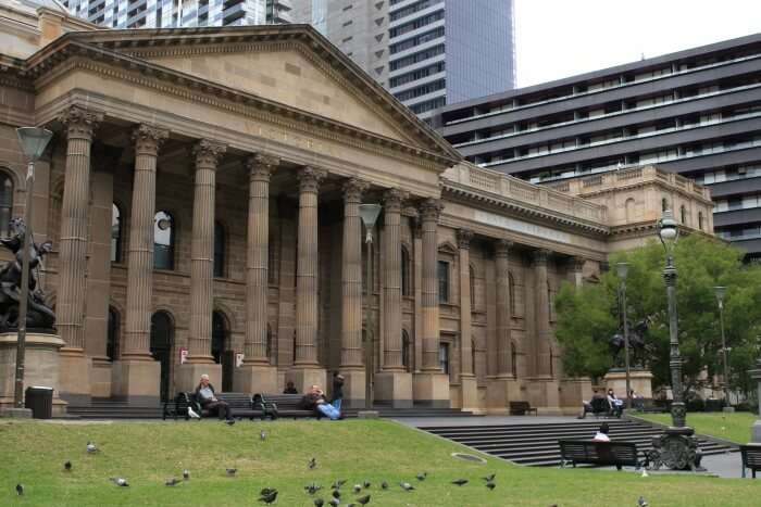 State Library And Reading Session