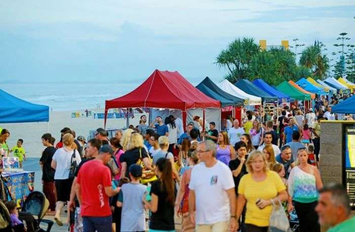 Beachfront Markets