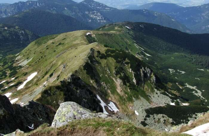 View of Tatra National Park