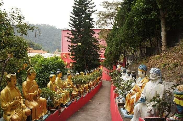 buddhist statues hong kong