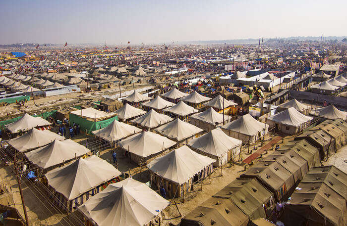 Tents View