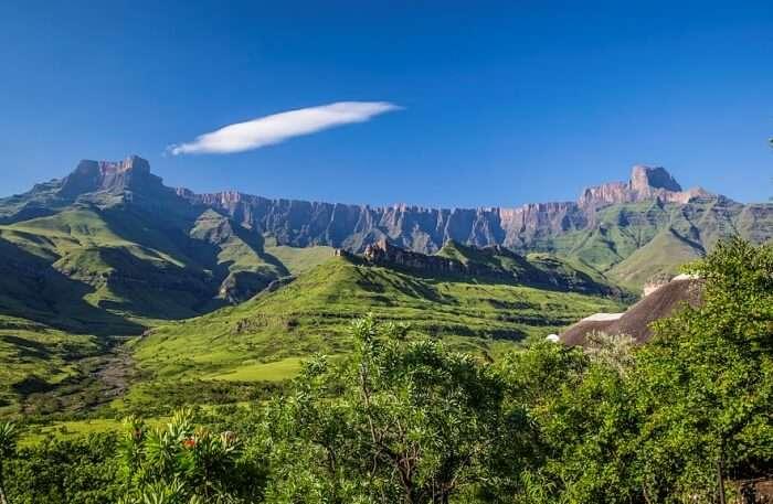 Thaba Putsoa Mountain