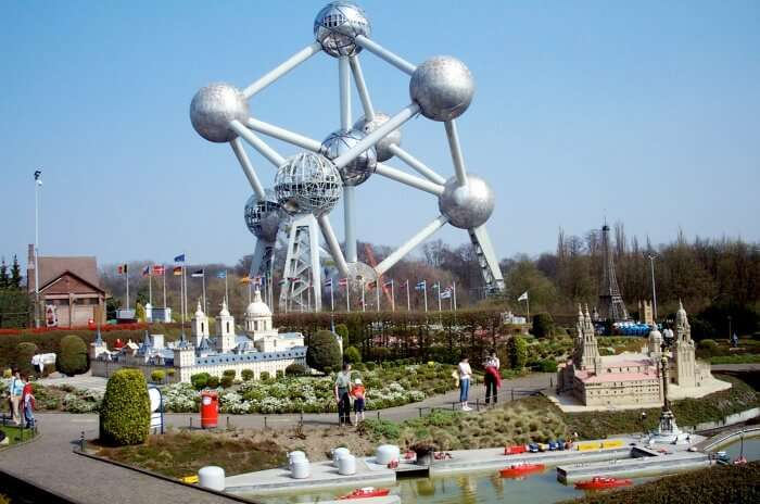 The Atomium and Bruparck
