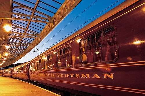 The Belmond Royal Scotsman