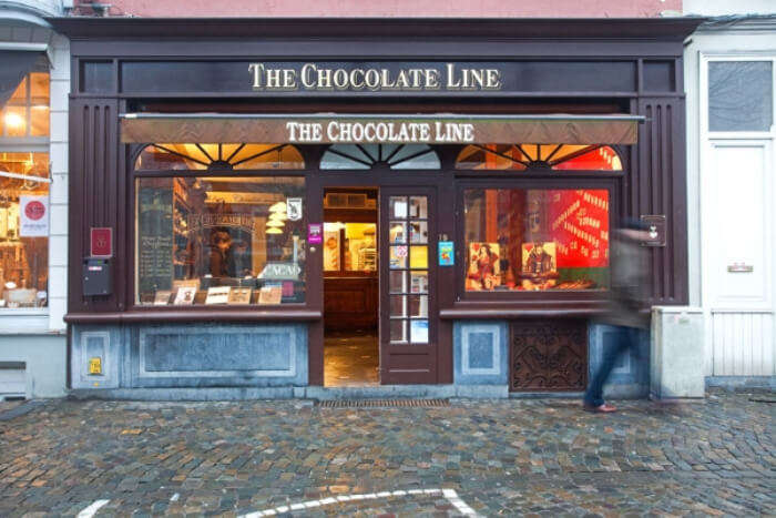 The Chocolate Line