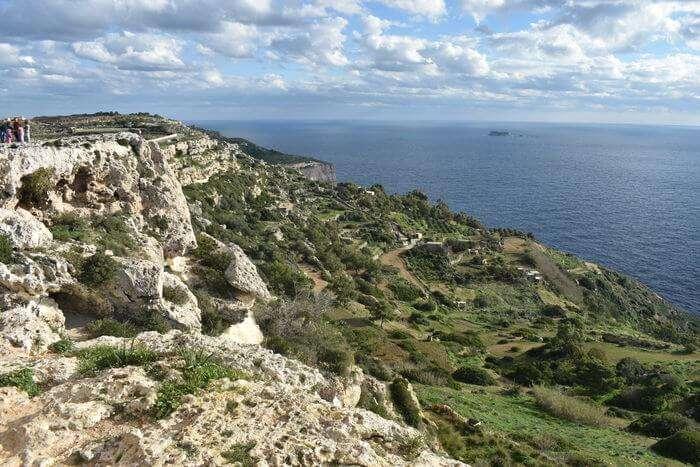 The Dingli Cliffs