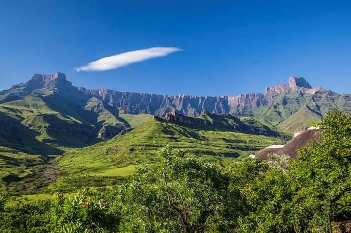 The Drakensberg, KwaZulu-Natal