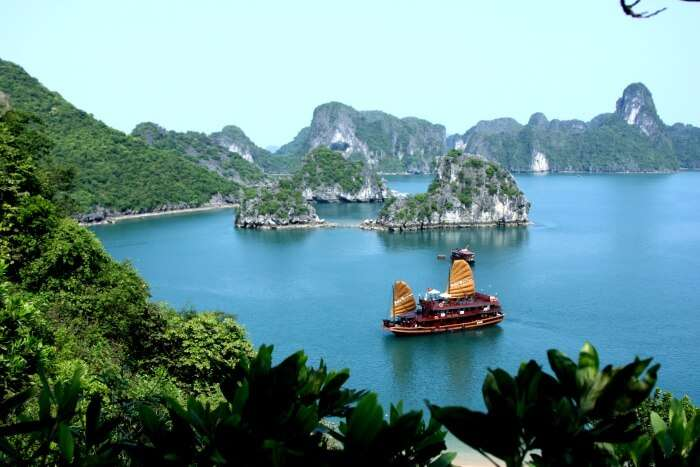 The Halong Bay
