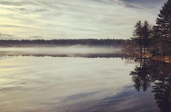 Little Island Pond view