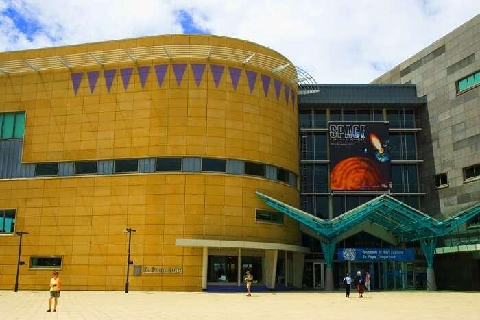 The Museum of New Zealand Te Papa Tongarewa