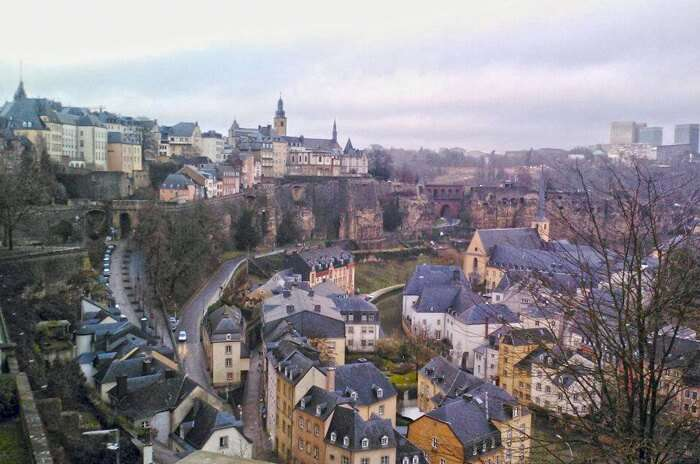 The Old Quarter of Luxembourg City