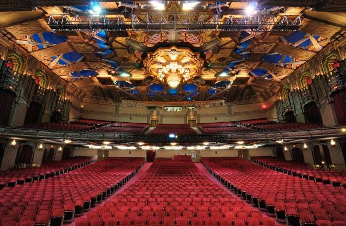 Theater inside view