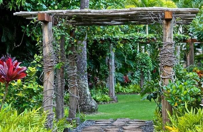 Retreat Garden National Park view