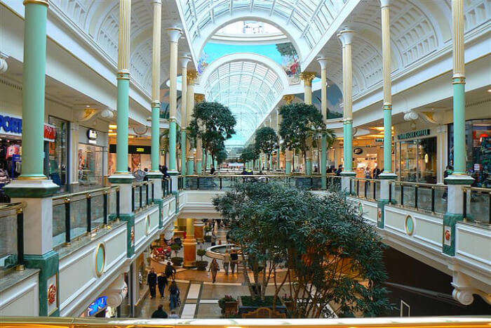 The Trafford Centre in Manchester