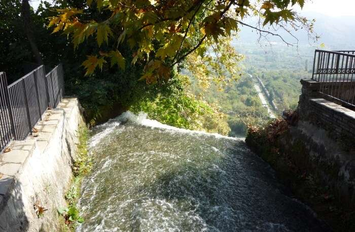 The Waterfalls Of Town Edessa
