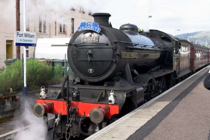 The West Highland & The Jacobite Steam Train
