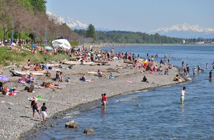 White Rock Beach