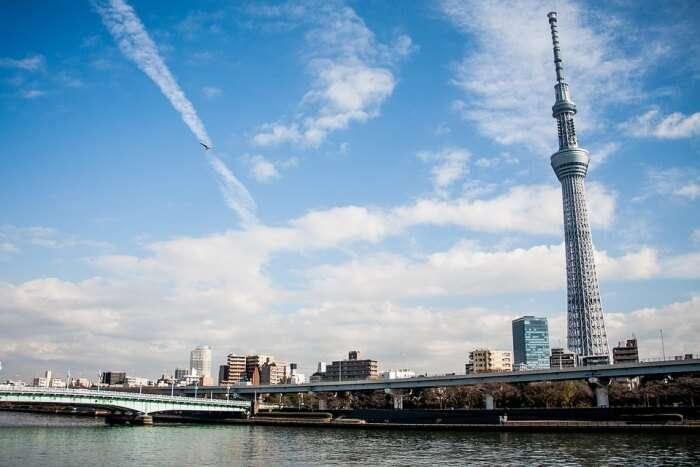 Tokyo Skytree and Tokyo Bay